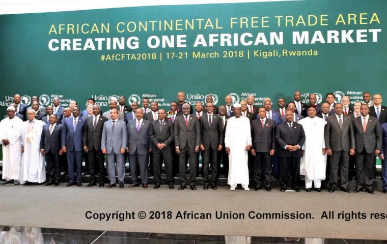Trattato AfCFTA – Africa Continental Free Trade Area