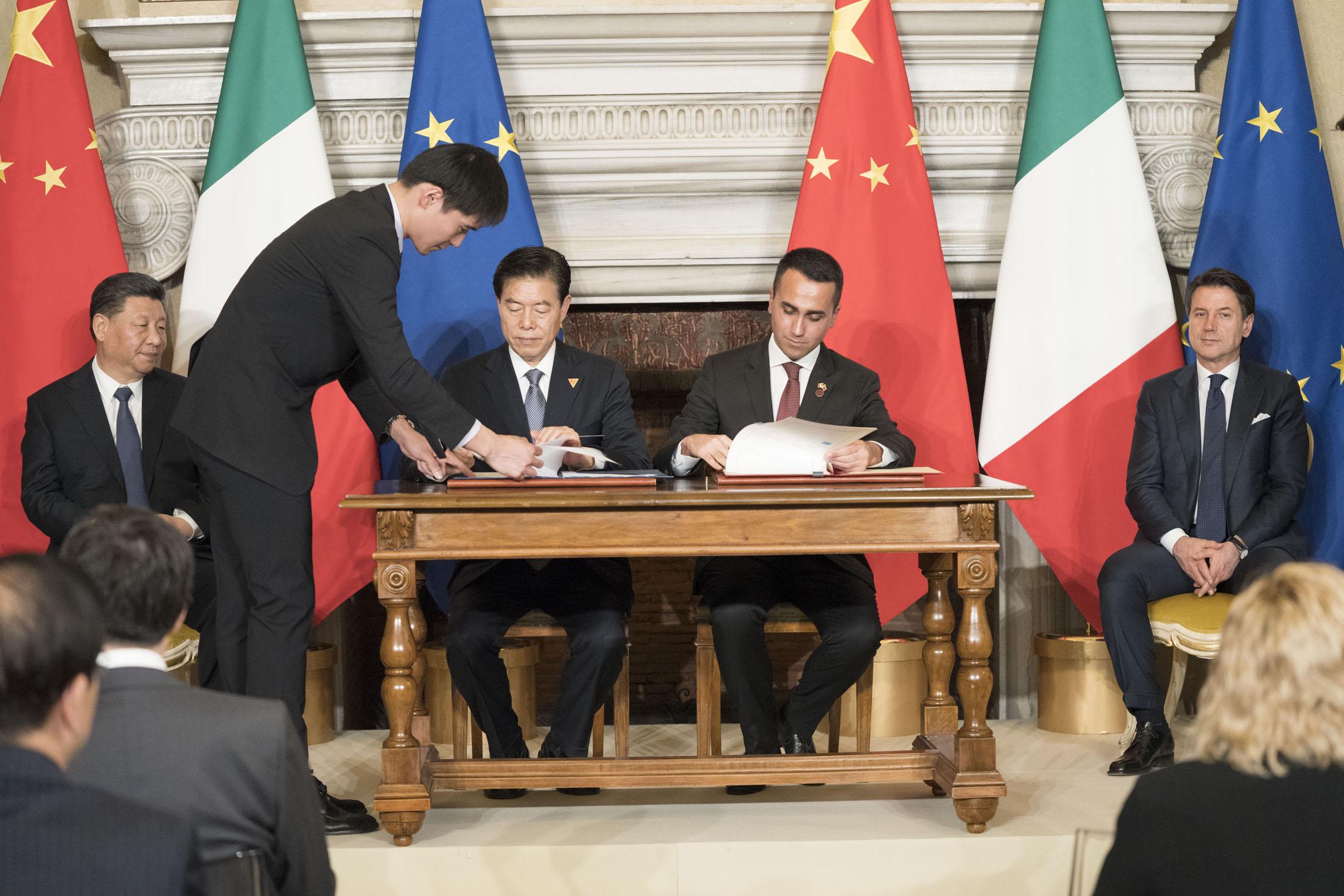 Il Memorandum Italia-Cina